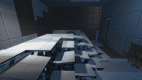 I Portal 2 venter splitter nye omgivelser.
