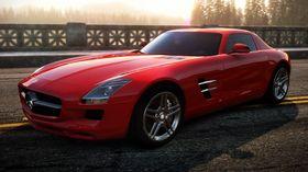 Røde biler er ofte de kjappeste.