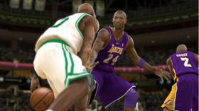 Klassikeren Lakers - Celtics med Kobe i hovedrollen.