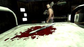 Ingenting er som litt blod for å komme i Saw-stemning.