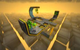 Spillet har fire grafiske temaer. Dette stifter du bekjentskap med først.