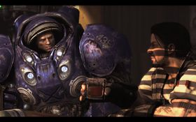 Mye action rundt StarCraft II.