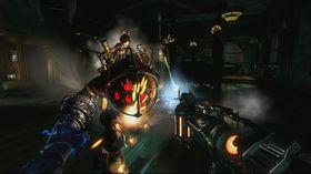 Intense scener i BioShock 2.