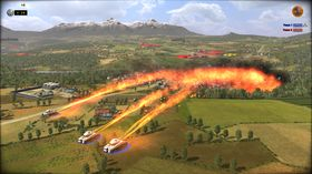 Flammekastere er dårlig egnet til sniking og lureri.