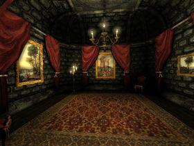 Slottet kunne sikkert vært en fin turistattraksjon, hadde det ikke vært for monstrene.