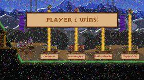 Kongen priser meg for seieren.