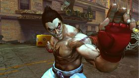 Tekken invaderer Street Fighter.