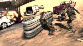 Soldatene samarbeider godt.