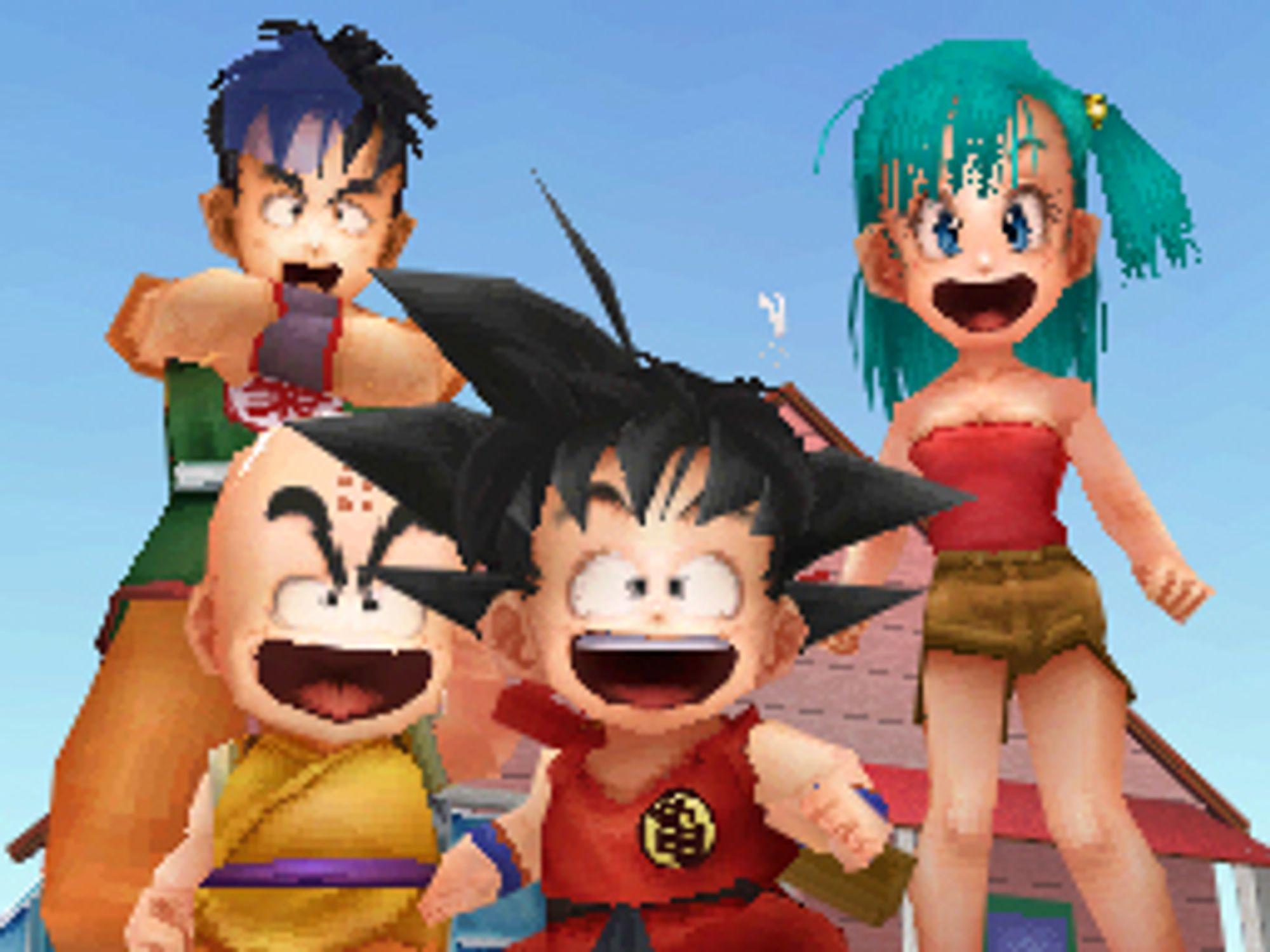 Son Goku og gjengen.