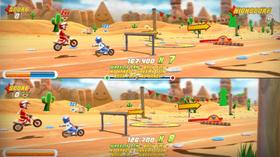 Delt skjerm for flerspiller.