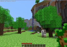 Velkommen til Minecrafts datagenererte verden.