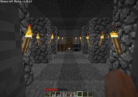 En av mine underjordiske baser.