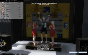 Jeg vant! Eller rettere sagt, jeg styrte Andy Schlceck til seier.