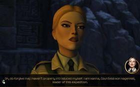 Den deilige skurkinnen, grevinne Hanna von Hagenhild.