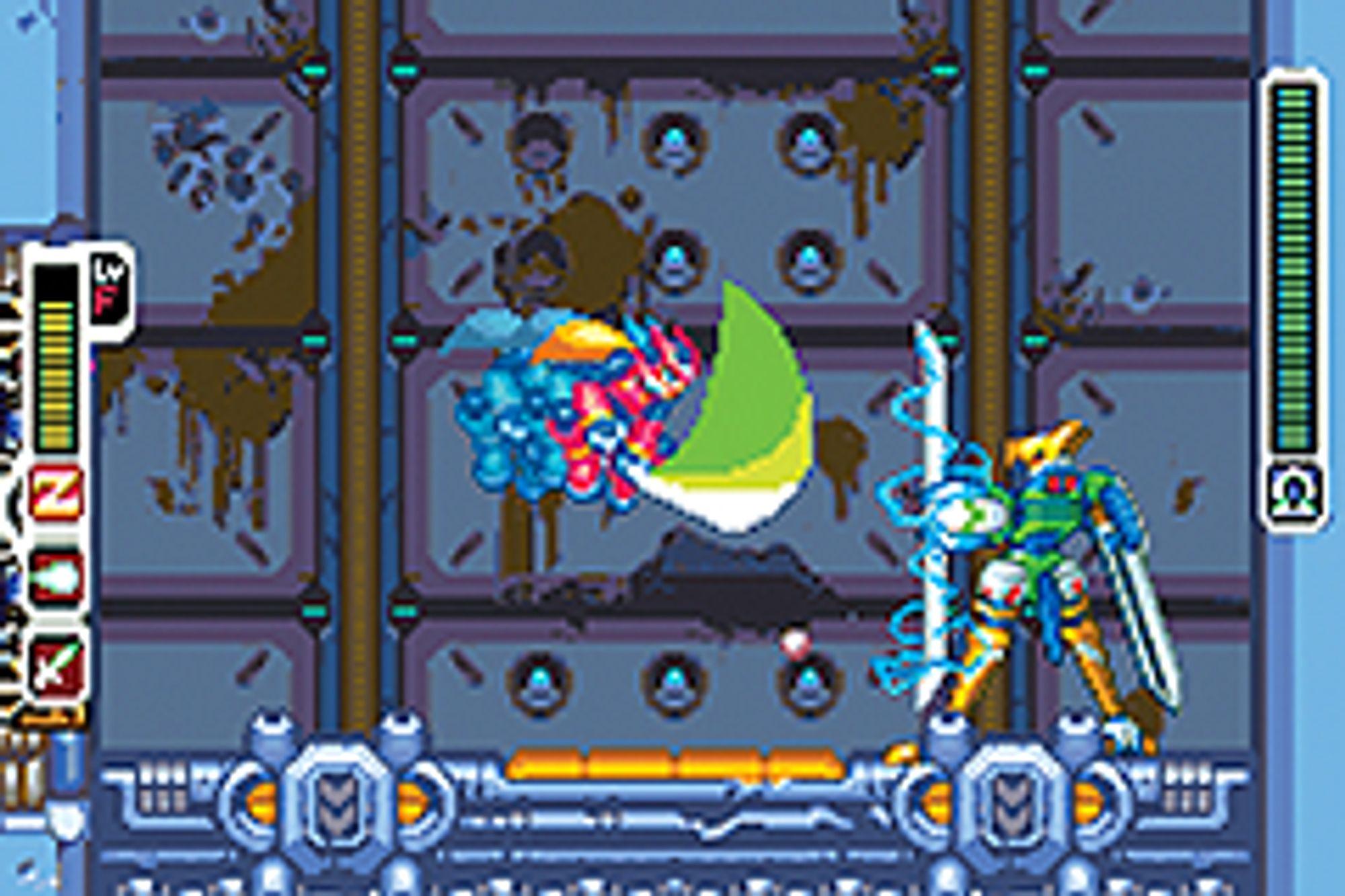 Som i de fleste Mega Man-spill kan du stjele krefter fra fienden.