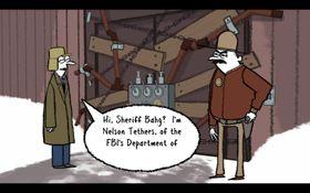Har sheriffen rent mel i posen?