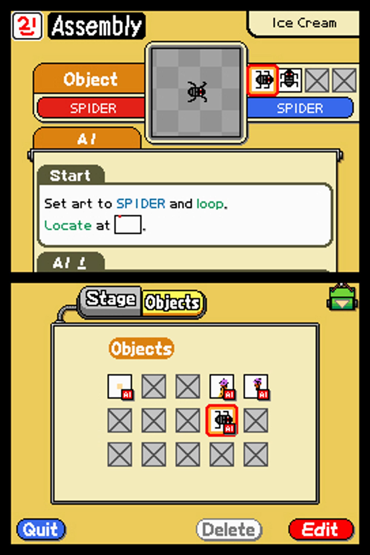 Skal edderkoppen mutere, rotere eller slås flat? Det bestemmer du!