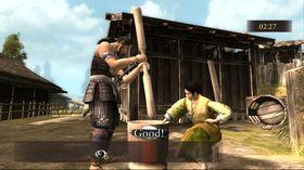Frå samurai til bonde på ein dag.