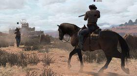 Kjemping fra hesteryggen er en sentral del av dette spillet, også i flerspillermodus.