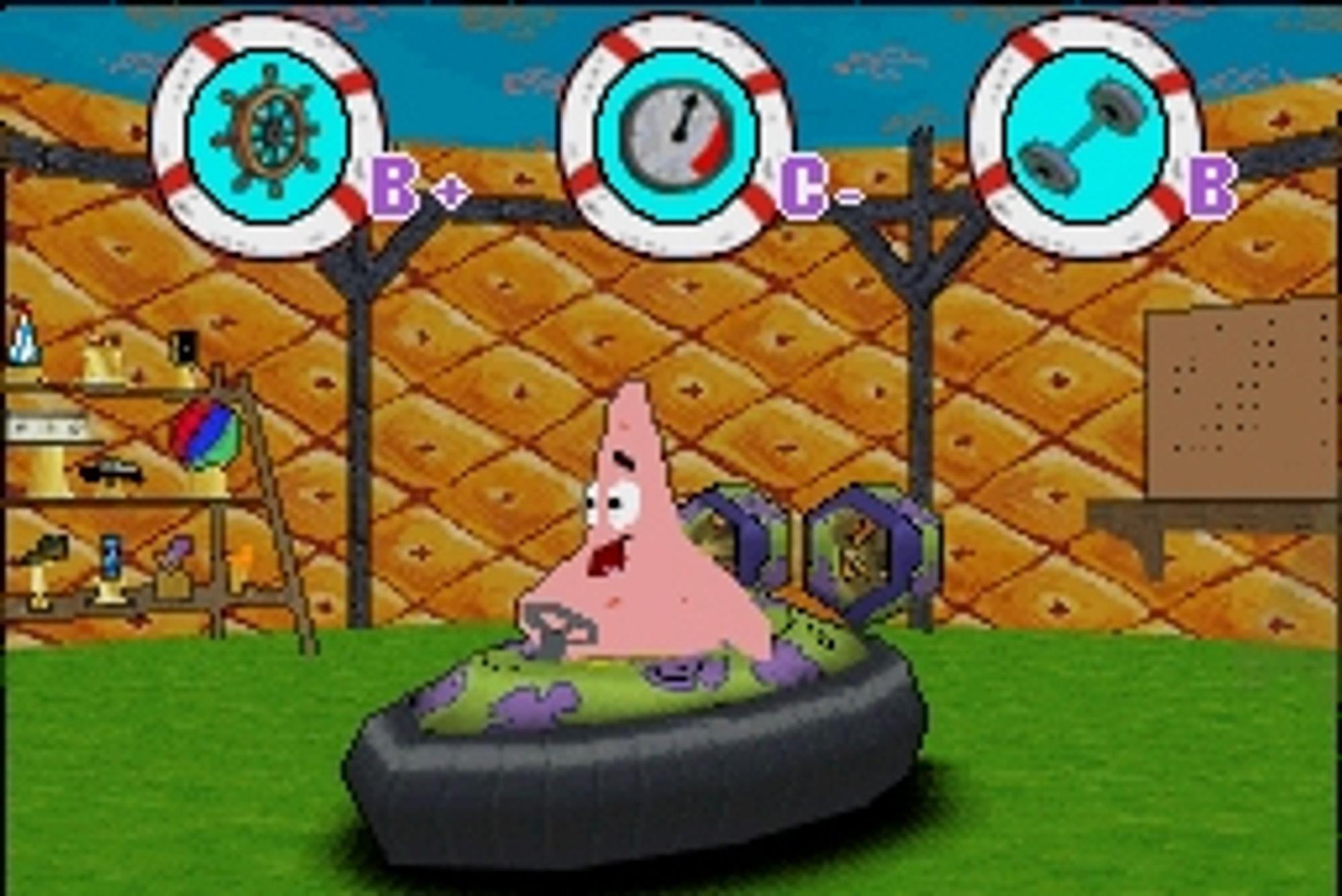 Patrick er alltid blid, uansett.