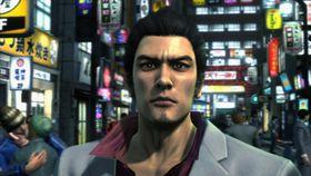 Den tradisjonelle Yakuza-helten, Kazuma Kiryu.