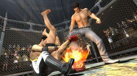 Kazuma kan slåss.