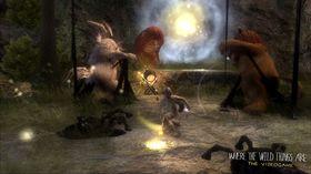 I flere kamper må du beskytte huttetuene.