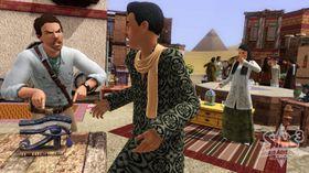 På besøk i Egypt.