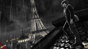 Mye av spillet foregår i fargeløse omgivelser.