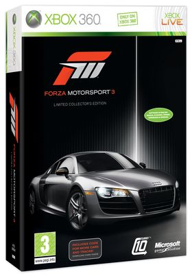 Forza Motorsport 3 Limited Edition.