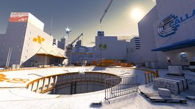 PC-utgaven av Mirror's Edge.