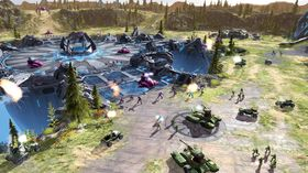 UNSC og The Covenant braker sammen i Halo Wars.