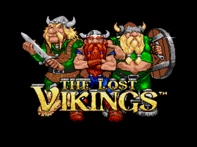 Tre tøffe vikinger.