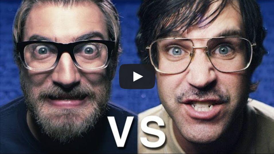Lær forskjellen på «nerd» og «geek» i episk rapduell