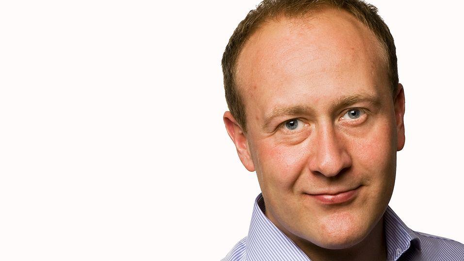 Kommunikasjonssjef Øyvind Vederhus i Teliasonera Norge sier selskapet bekymrer seg for forventingene i markedet.