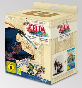 The Legend of Zelda: The Wind Waker HD Limited Edition.