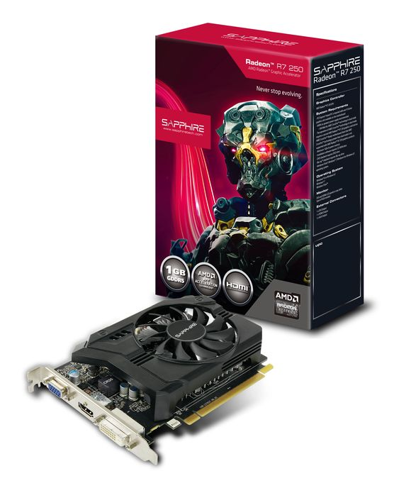 Sapphire Radeon R7 250.