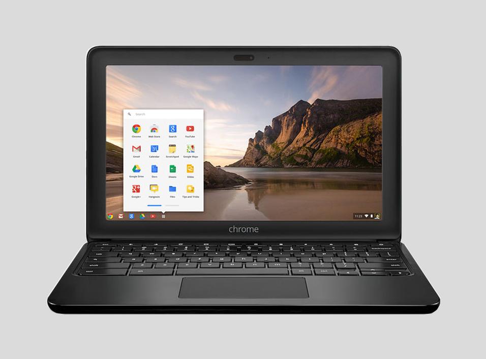 HP skal visstnok lansere en ny Chromebook som skiller seg ut. Dette er en av selskapets tidligere Chromebook-modeller.