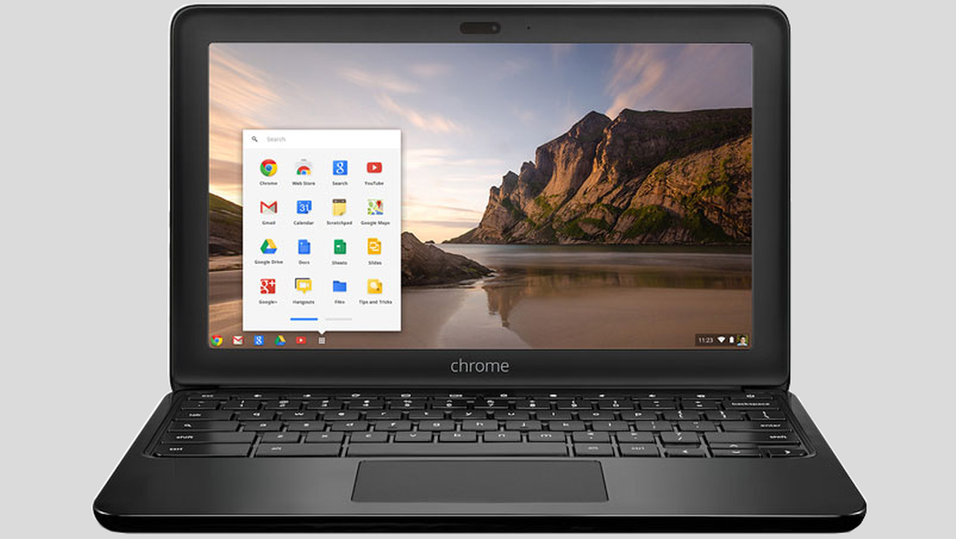 HP Chromebook 11.