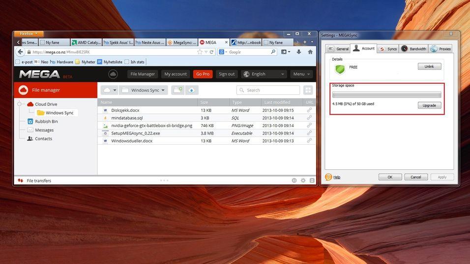 MEGAs nye tjeneste får Dropbox til å blekne