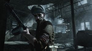 Russisk soldat i Call of Duty: World at War.