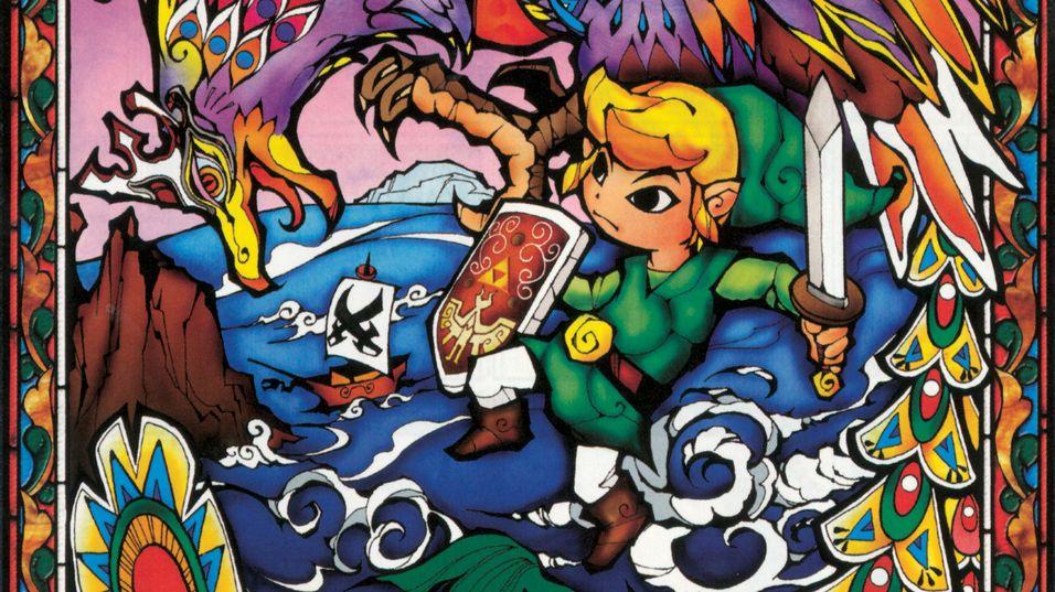 Konseptkunst fra The Legend of Zelda: Wind Waker HD.
