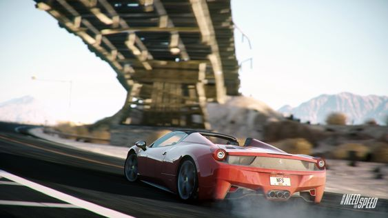 Full fres i Need for Speed: Rivals.