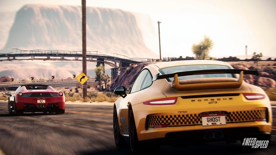Rivals føles noen ganger mer som en bilreklame enn et spill.