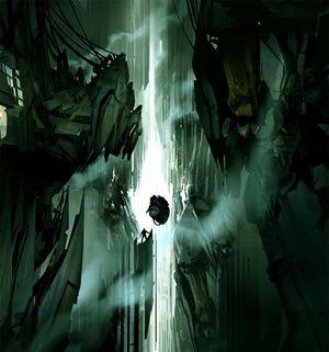Offisiell konseptkunst fra Half-Life 2: Episode 3.