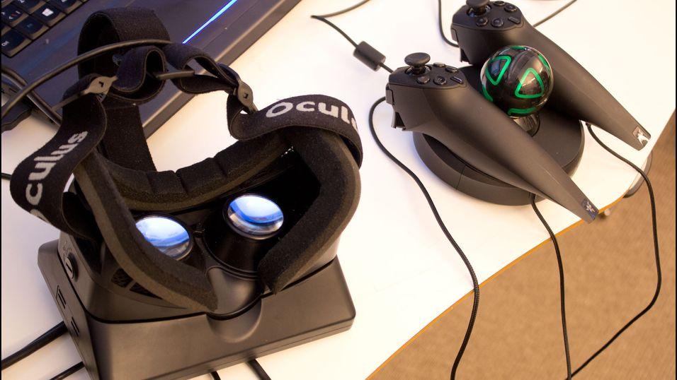 Et par Razer Hydra-stikker hjelper, men er bare nødvendig i noen ytterst få spill.