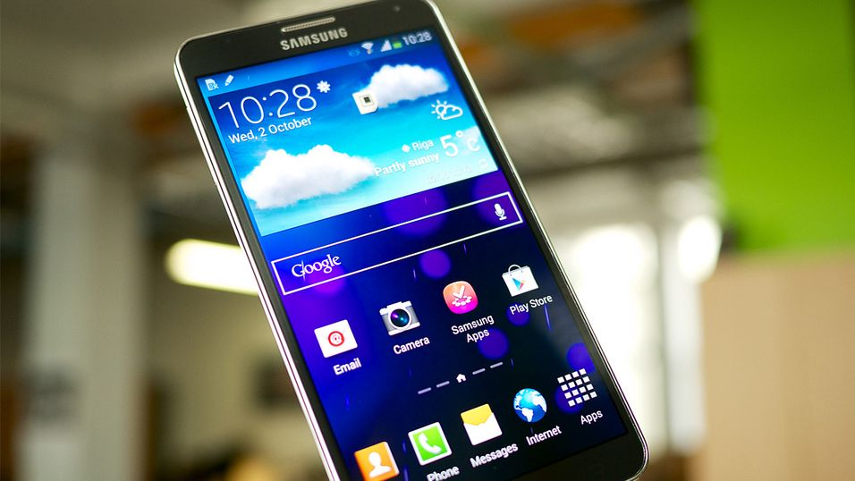 Galaxy Note 3 kunne fått fingeravtrykkleser