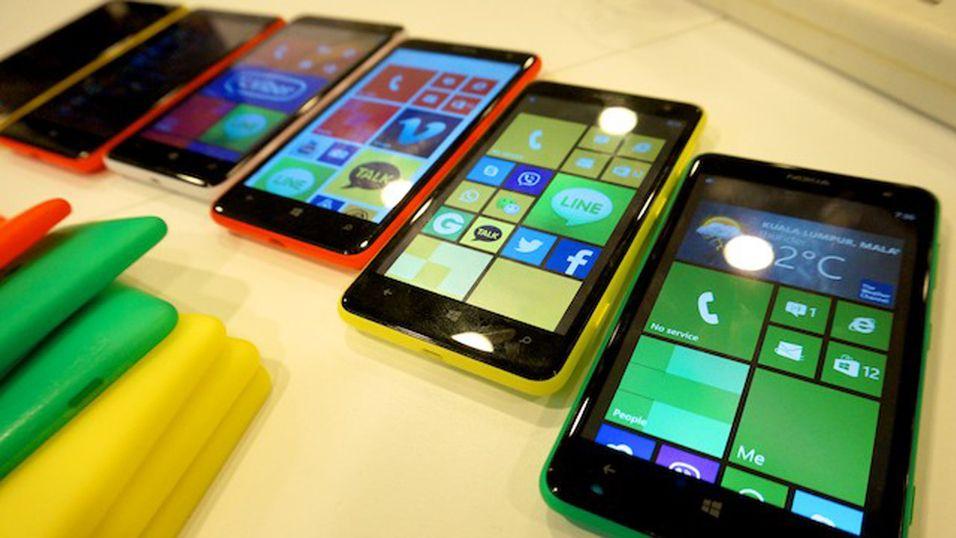 – Windows Phone 8.1 skal støtte nettbrett