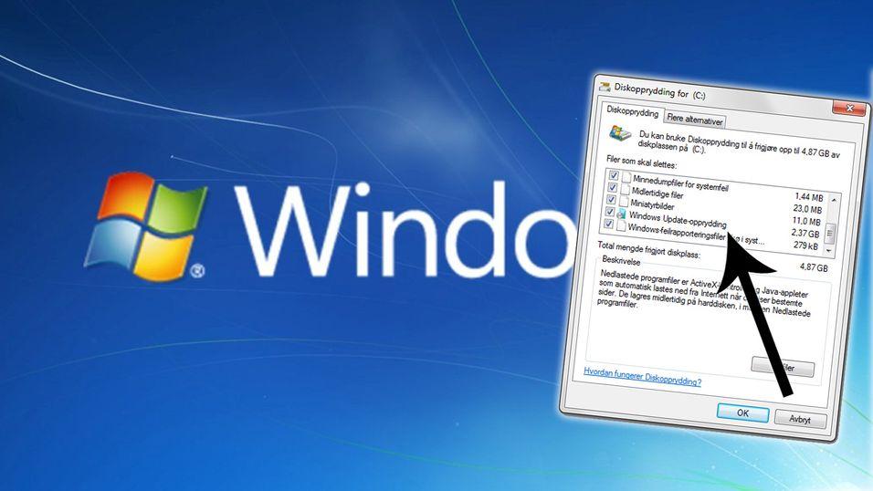 Oppdatering for Windows 7 gir ettertraktet funksjon