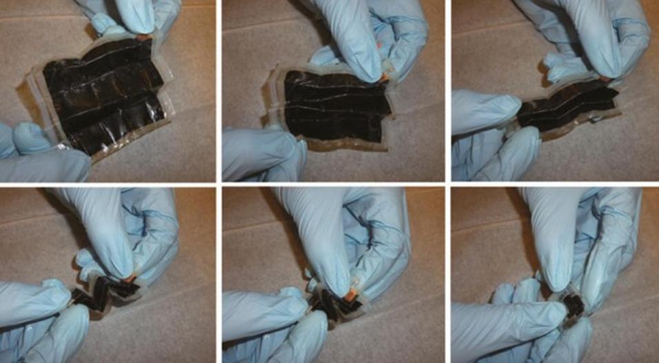 Nytt batteri kan «brettes» sammen som papir